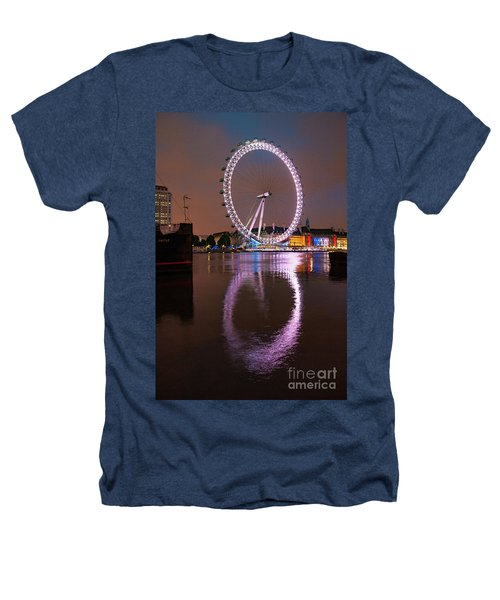 The London Eye Heathers T-Shirt by Nichola Denny
