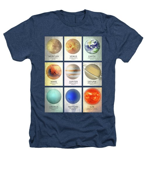 The Planets Heathers T-Shirt by Mark Rogan