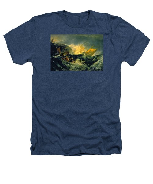 The Shipwreck Of The Minotaur Heathers T-Shirt by MotionAge Designs