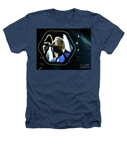 Chris Martin - A Head Full Of Dreams Tour 2016  Heathers T-Shirt by Tanya Filichkin