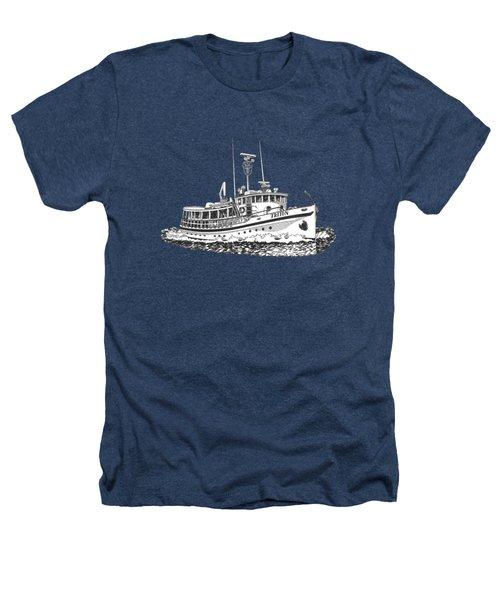 88 Foot Fantail Yacht Triton Heathers T-Shirt