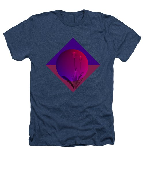 Tulip Abstract Heathers T-Shirt