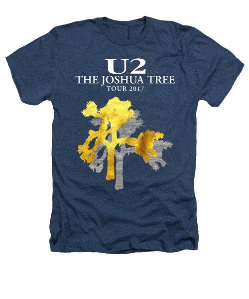 U2 Joshua Tree Heathers T-Shirt by Raisya Irawan