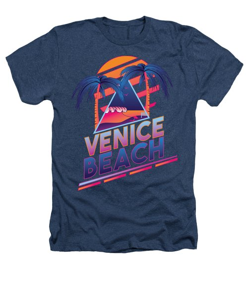Venice Beach 80's Style Heathers T-Shirt