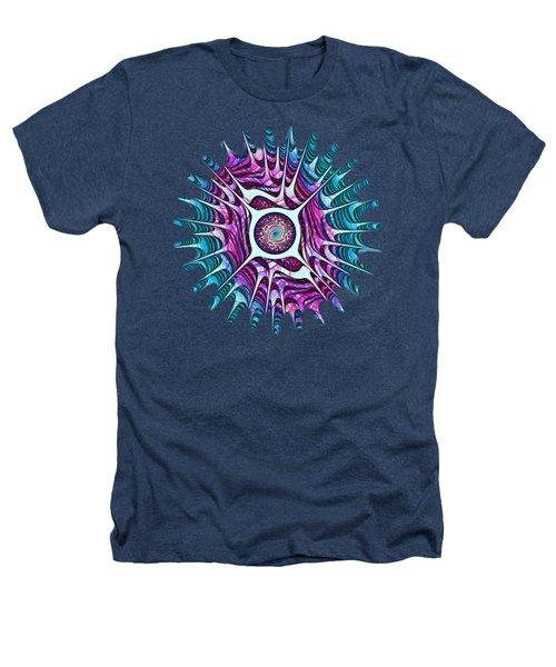 Water Dragon Eye Heathers T-Shirt by Anastasiya Malakhova