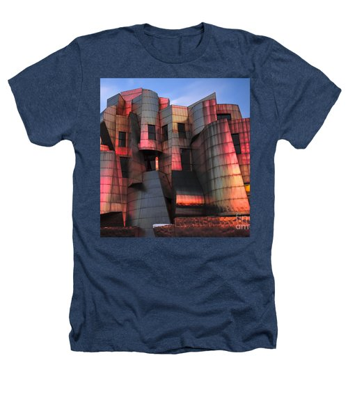 Weisman Art Museum At Sunset Heathers T-Shirt by Craig Hinton