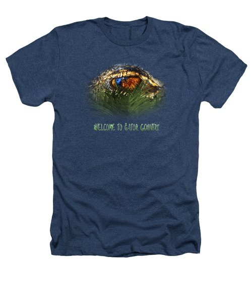 Welcome To Gator Country Design Heathers T-Shirt