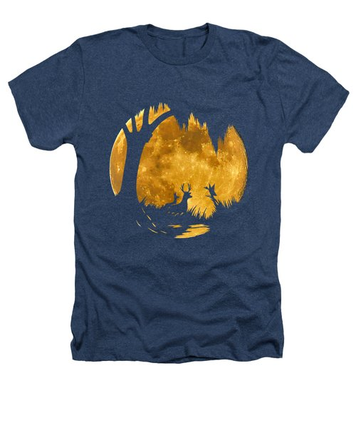 Wetland Wildlife Massive Moon .png Heathers T-Shirt by Al Powell Photography USA