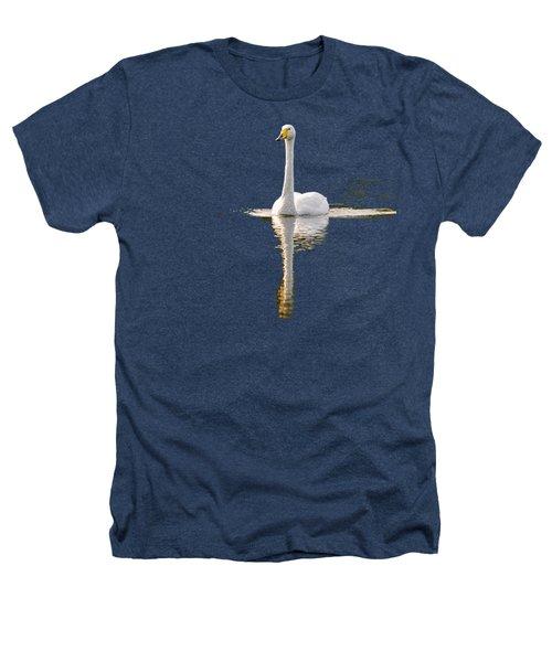 Whooper Swan Transparent Heathers T-Shirt