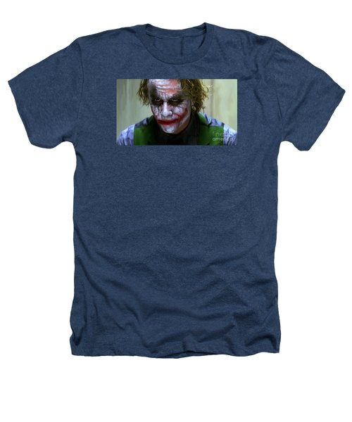 Why So Serious Heathers T-Shirt by Paul Tagliamonte
