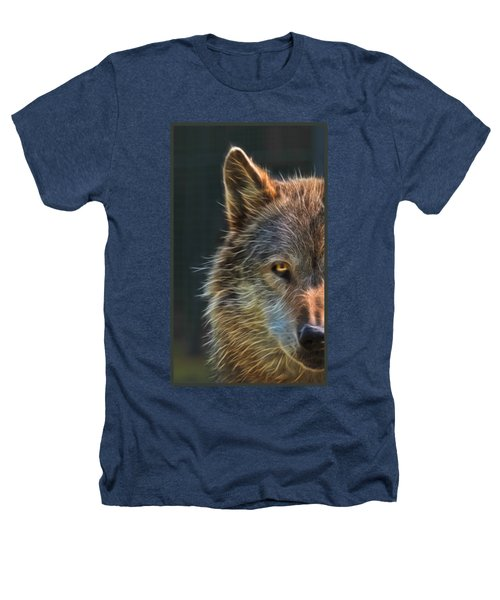 Wild Night Heathers T-Shirt by Gill Billington