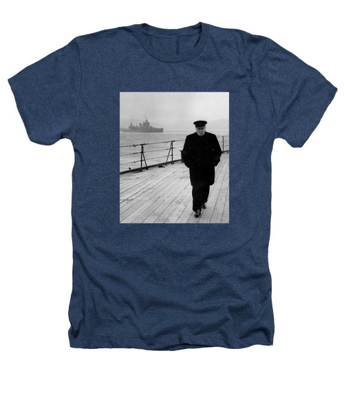Winston Churchill At Sea Heathers T-Shirt