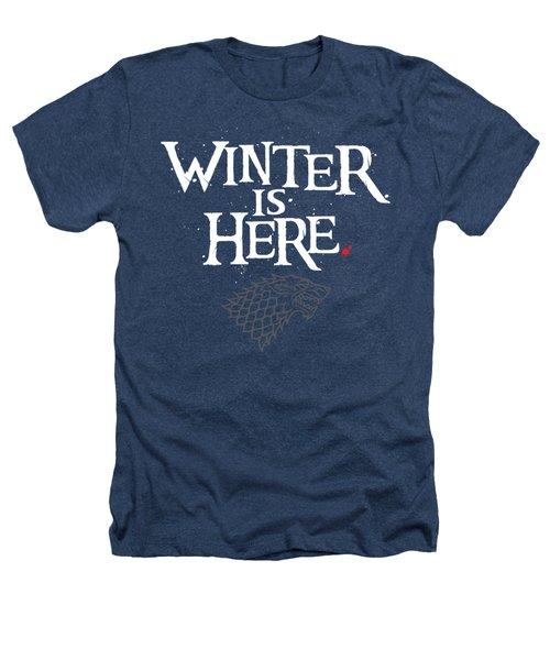 Winter Is Here - Stark Sigil Heathers T-Shirt