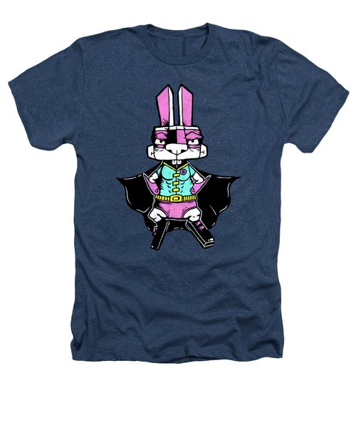 Wonder Bunny Heathers T-Shirt