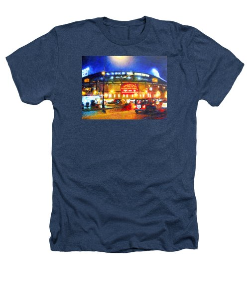 Wrigley Field Home Of Chicago Cubs Heathers T-Shirt
