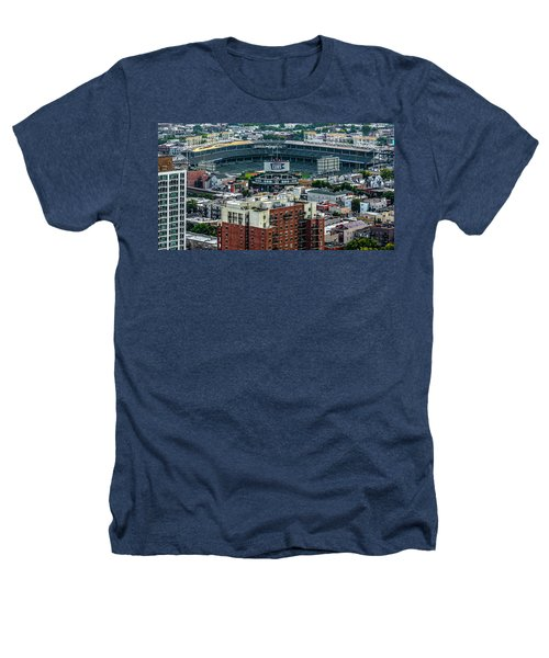 Wrigley Field Park Place Towers During The Day Dsc4743 Heathers T-Shirt by Raymond Kunst