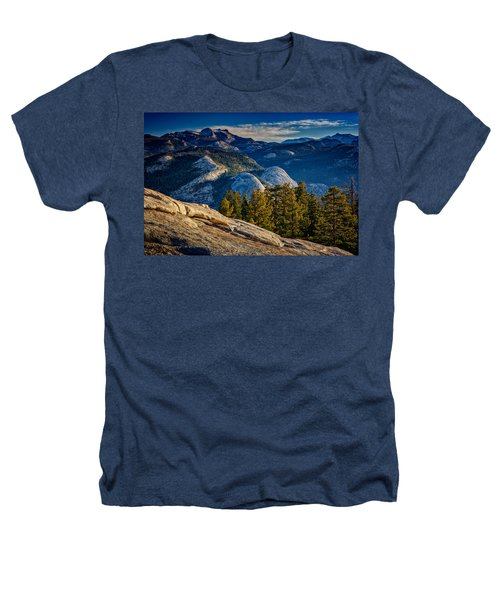 Yosemite Morning Heathers T-Shirt by Rick Berk
