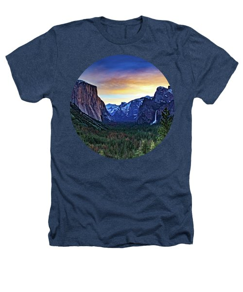 Yosemite Sunrise Heathers T-Shirt