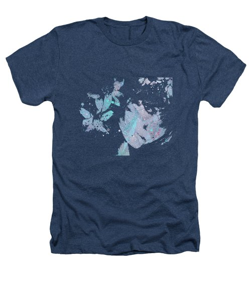 You'll See - Blue Heathers T-Shirt by Marco Paludet