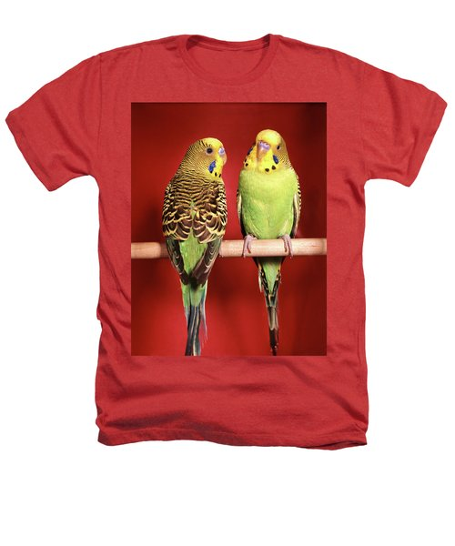 1960s Pair Of Two Yellow Green Heathers T-Shirt