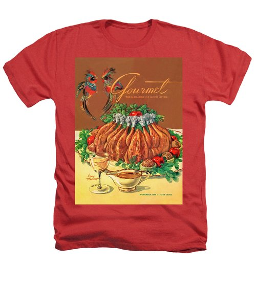 A Gourmet Cover Of Chicken Heathers T-Shirt by Henry Stahlhut