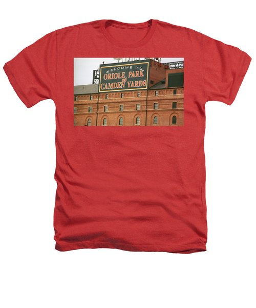 Baltimore Orioles Park At Camden Yards Heathers T-Shirt
