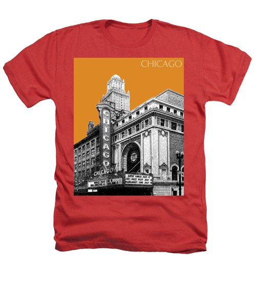 Chicago Theater - Dark Orange Heathers T-Shirt