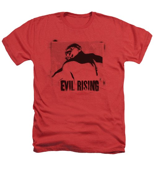 Dark Knight Rises - Evil Rising Heathers T-Shirt