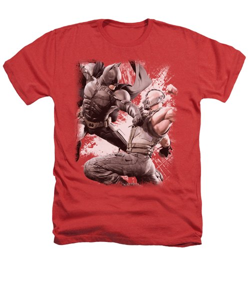 Dark Knight Rises - Final Fight Heathers T-Shirt