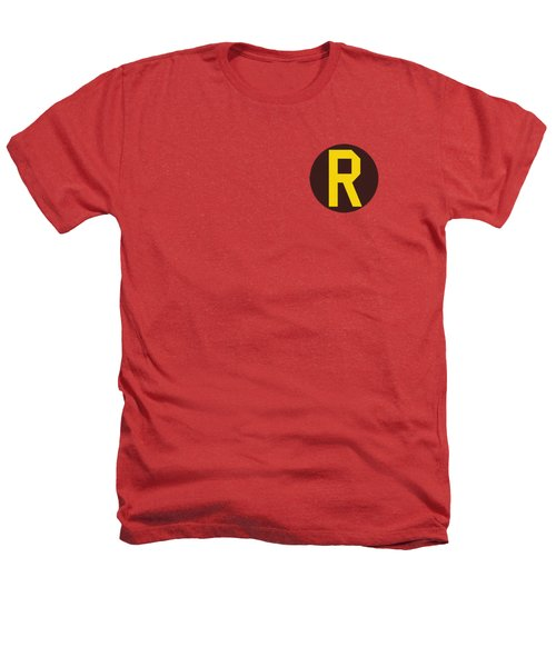 Dc - Robin Logo Heathers T-Shirt by Brand A