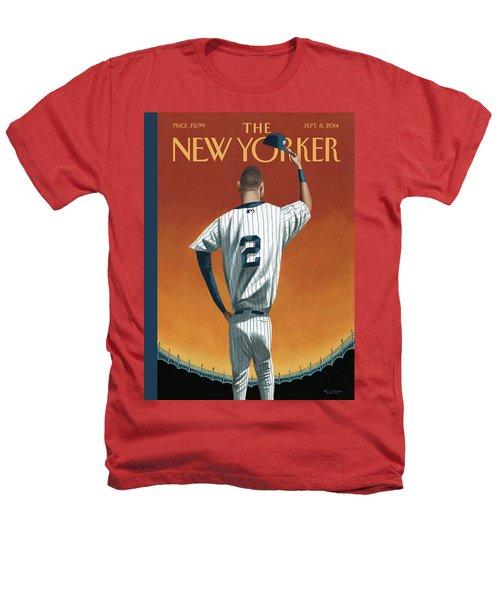 Derek Jeter Bows Heathers T-Shirt