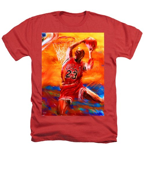 His Airness Heathers T-Shirt