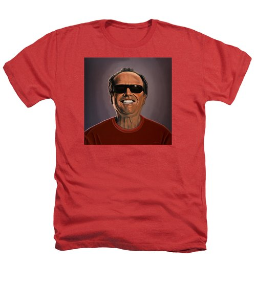 Jack Nicholson 2 Heathers T-Shirt by Paul Meijering