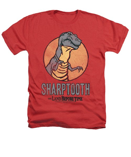 Land Before Time - Sharptooth Heathers T-Shirt