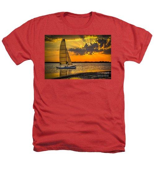Sunset Sail Heathers T-Shirt