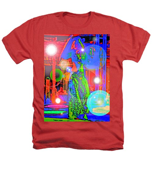 Belly Dance Heathers T-Shirt by Andy Za