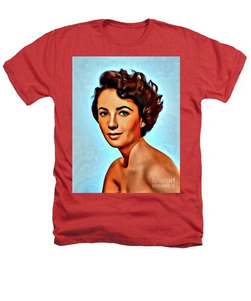 Elizabeth Taylor, Vintage Hollywood Legend Heathers T-Shirt by Mary Bassett