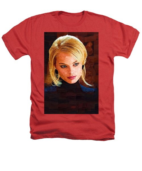 Margot Robbie Painting Heathers T-Shirt by Best Actors