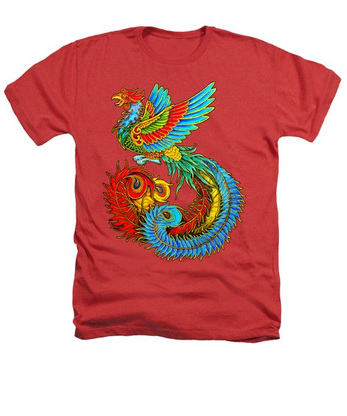 Fenghuang Chinese Phoenix Heathers T-Shirt
