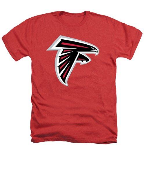 Atlanta Falcons  Heathers T-Shirt by Mitro Dente