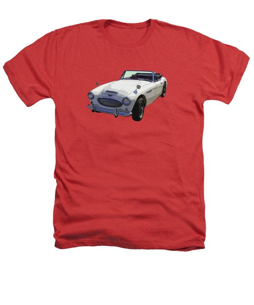 Austin Healey 300 Classic Convertible Sportscar  Heathers T-Shirt by Keith Webber Jr