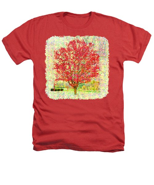 Autumn Musings 2 Heathers T-Shirt by John M Bailey