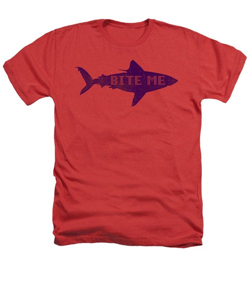 Bite Me Heathers T-Shirt by Michelle Calkins