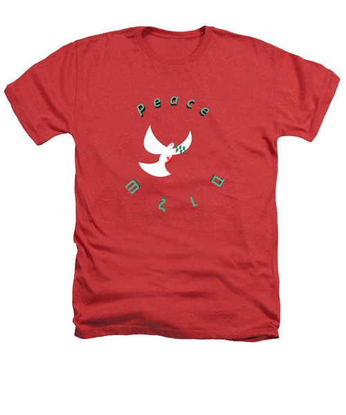 bloody peace Wounded dove symbol of peace  Heathers T-Shirt