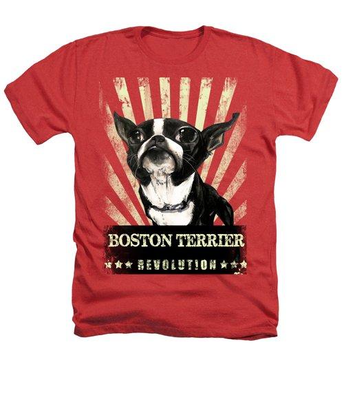 Boston Terrier Revolution Heathers T-Shirt