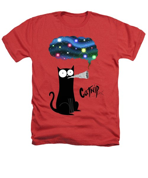 Catnip  Heathers T-Shirt by Andrew Hitchen