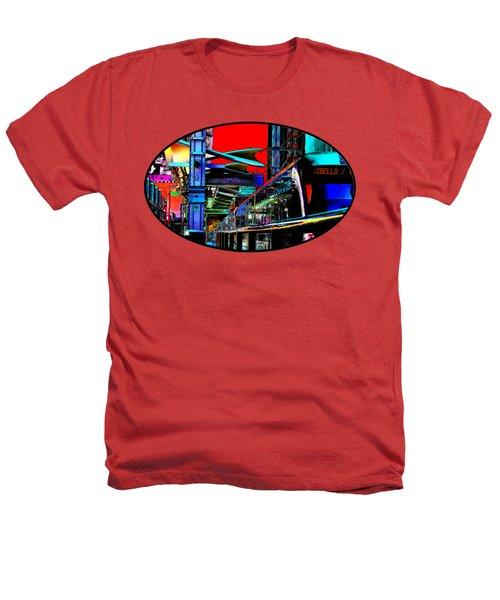 City Tansit Pop Art Heathers T-Shirt by Phyllis Denton