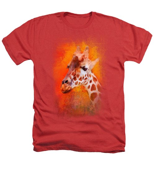 Colorful Expressions Giraffe Heathers T-Shirt