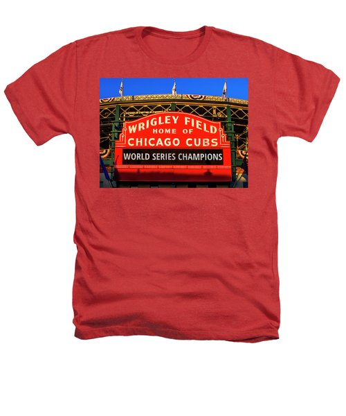 Cubs Win World Series Heathers T-Shirt
