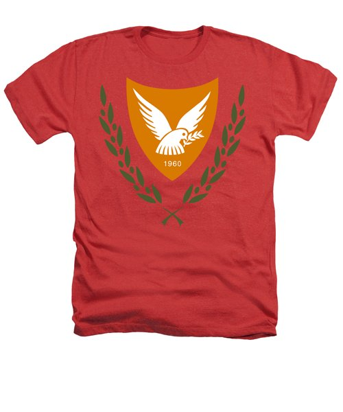 Cyprus Coat Of Arms Heathers T-Shirt